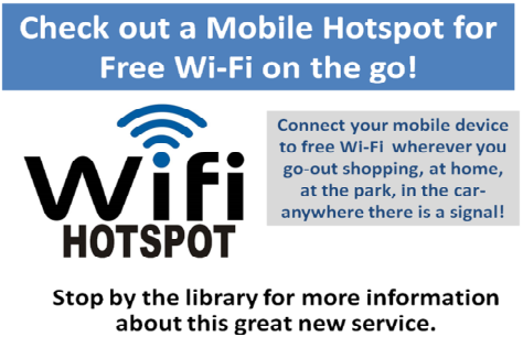 Mobile Hotspots – Copiague Memorial Public Library