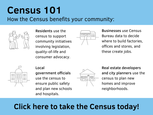 Click here to take the census today