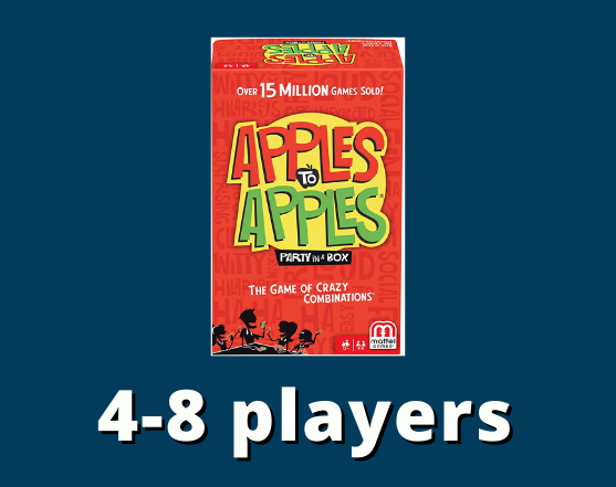 Apples to apples 4-8 players