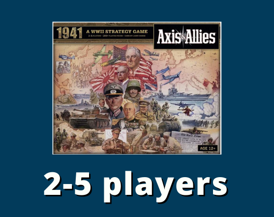 Axis and allies 2-5 players