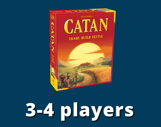 Catan 3-4 players