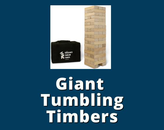 Giant tumbling timbers