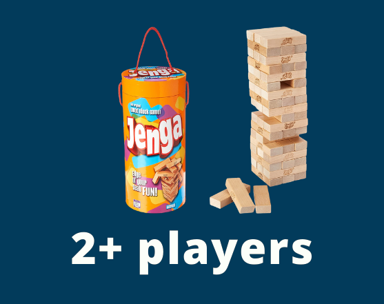 Jenga 2+ players