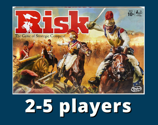 Risk 2-5 players