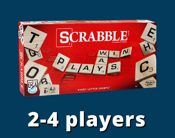 Scrabble 2-4 players