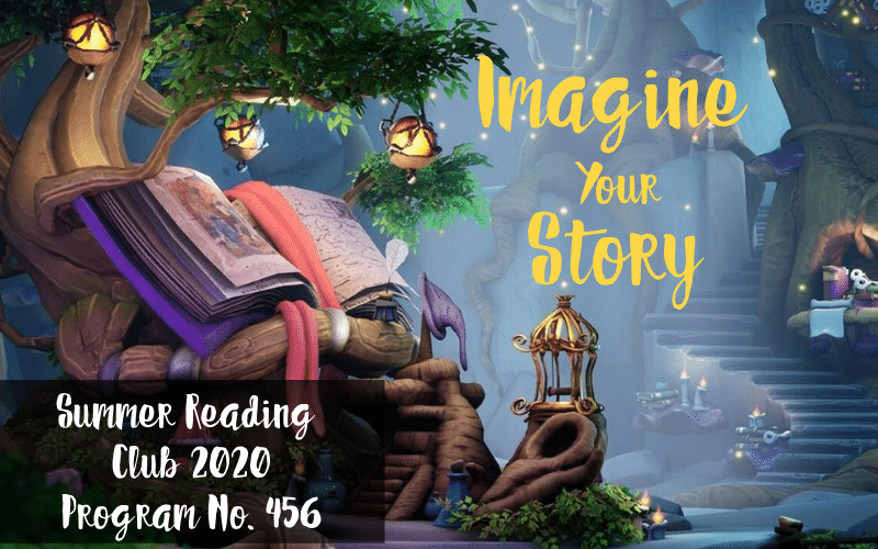 Imagine Your Story Children's Summer Reading Club 2020