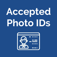 Accepted Photo IDs