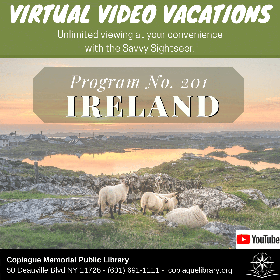 Virtual Video Vacations Unlimited viewing at your convenience with the Savvy Sightseer. Program No. 201 Ireland YouTube
