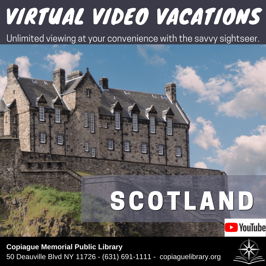 Virtual video Vacations Unlimited viewing at your convenience with the savvy sightseer. Scotland