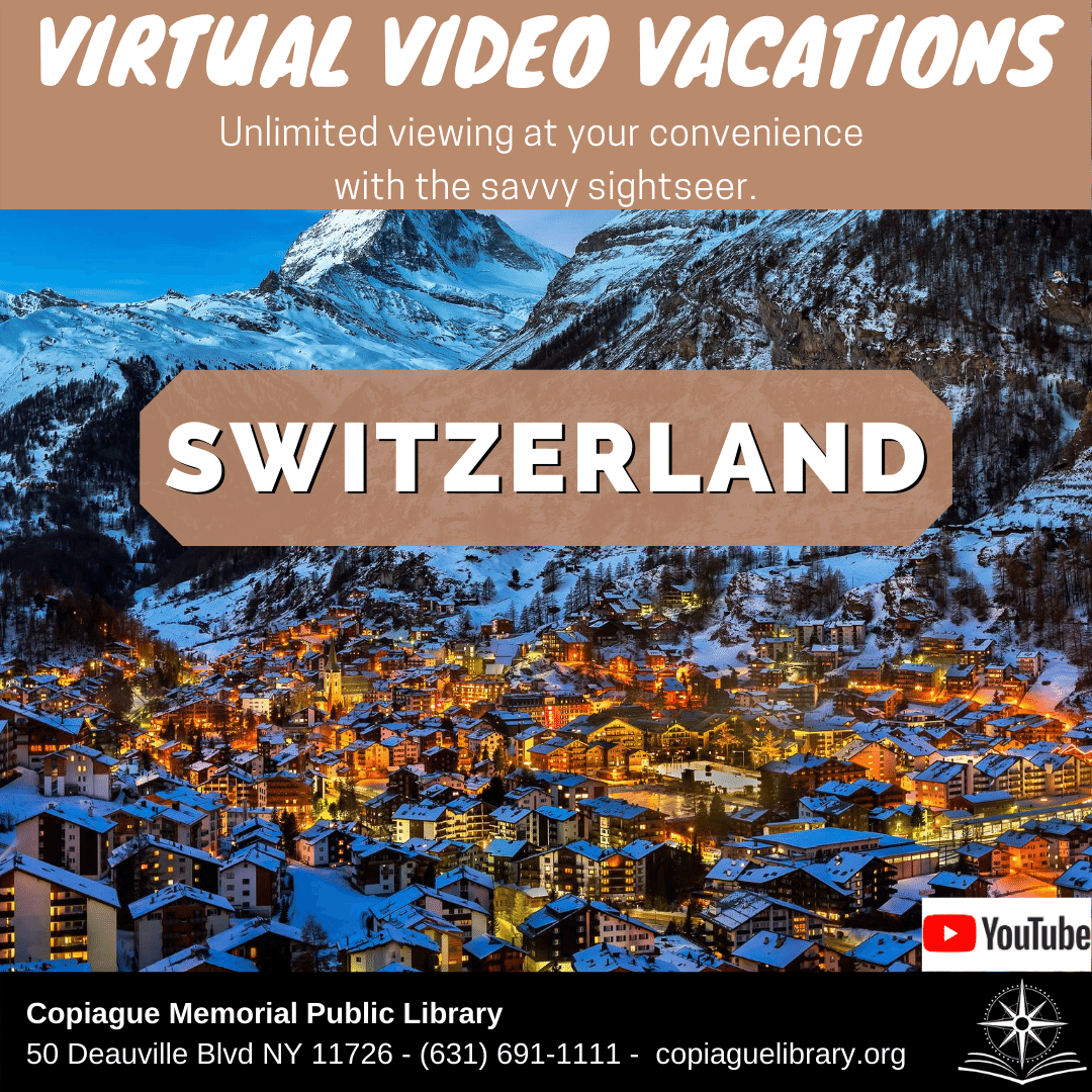 Virtual Video Vacations Unlimited viewing at your convenience with the savvy sightseer. Switzerland
